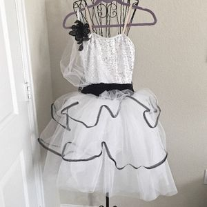 Dresses & Skirts - Sequined Dance Costume Dress Tutu Ballet